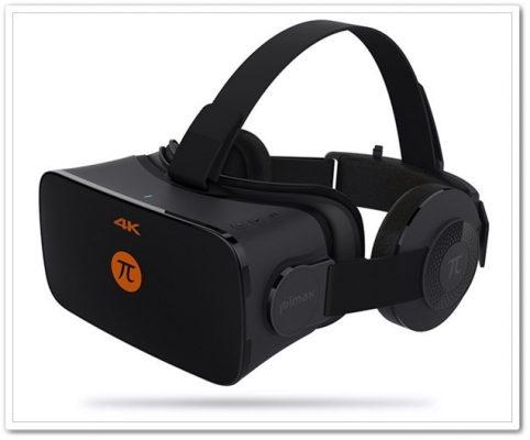 PIMAX 4K VR ゴーグル 3Dメガネ ヘッドマウントディスプレイ