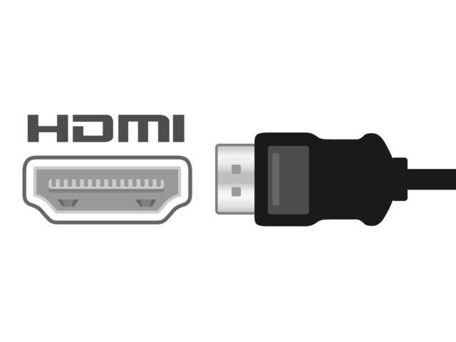 HDMIケーブルの絵