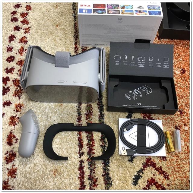 OculusGOの内容物