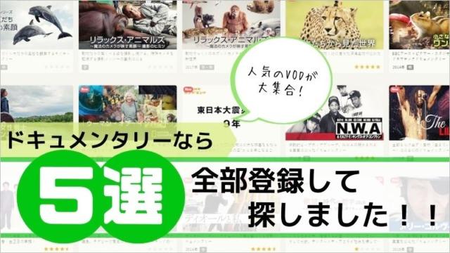 ドキュメンタリー動画5選!全部登録して探しました!!