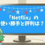 アメリカ最大の動画サービス「Netflix」の使い勝手と評判は?